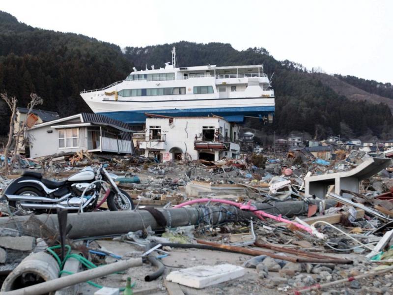 Japão tenta reconstruir-se (EPA)