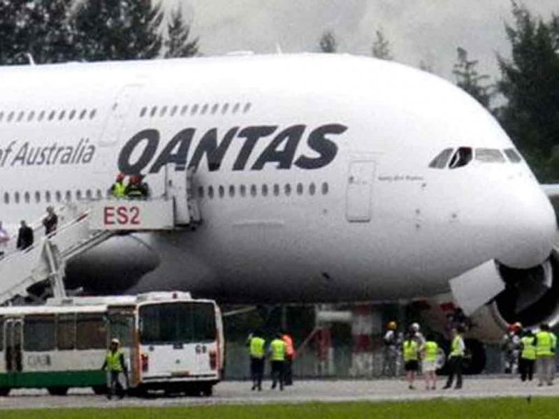Avião da Qantas (arquivo)