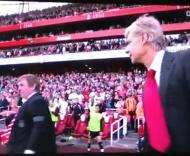 Kenny Dalglish e Arsene Wenger