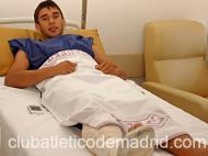 Salvio operado com sucesso em Madrid
