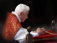 Papa celebra Paixão de Cristo (EPA/ALESSANDRO DI MEO)