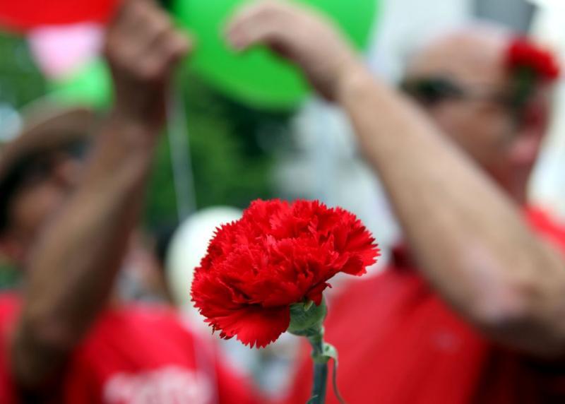Comemorações do 25 de Abril (LUSA)