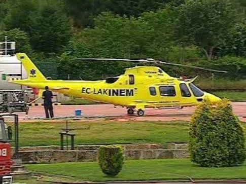 Helicóptero do INEM (arquivo)