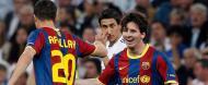 «Show» Messi no Santiago Bernabéu