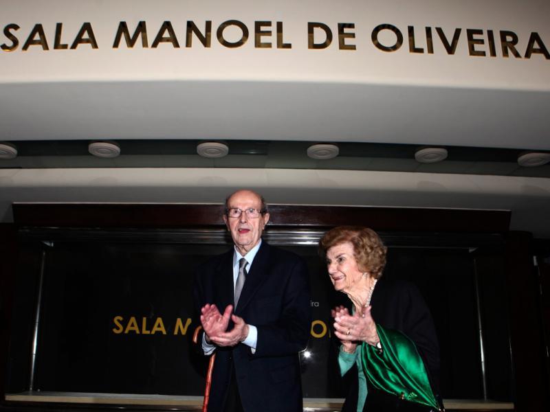 São Jorge já tem sala Manoel de Oliveira (ANTONIO COTRIM/LUSA )