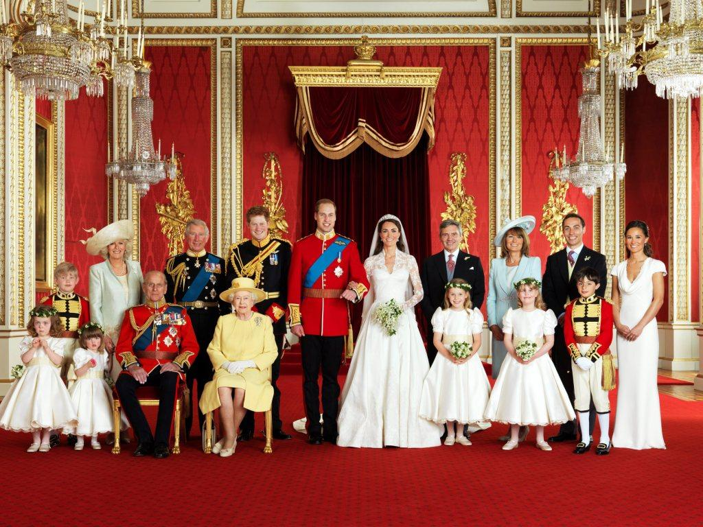 Fotos oficiais do casamento real (Lusa/Epa)