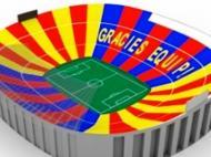 Projecto de coreografia no Barcelona-Real Madrid