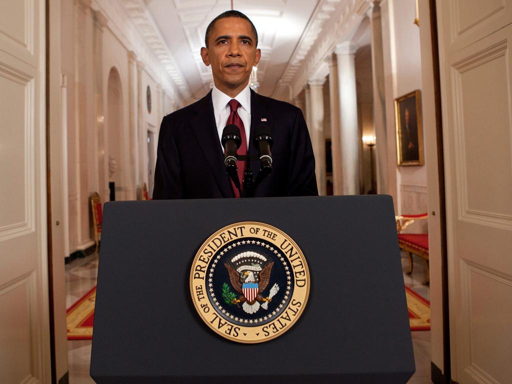 Obama anuncia morte de Bin Laden