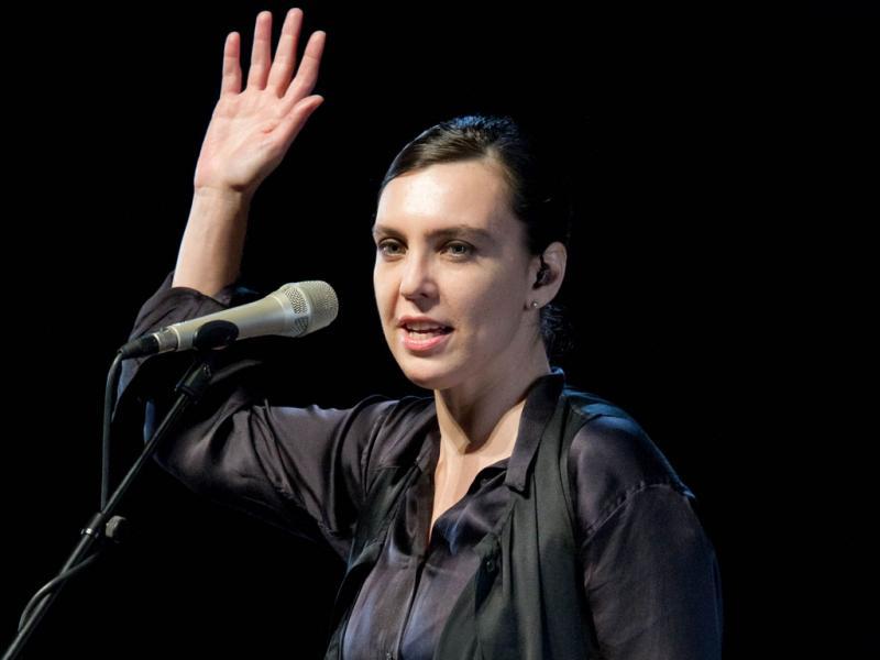Adriana Calcanhotto ao vivo no CCB (foto: Rui M. Leal)