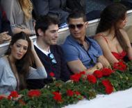 Iker Casillas,  Sara Carbonero com Cristiano Ronaldo e Irina Shayk Fotos: Reuters