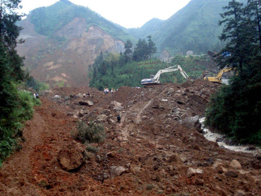 Deslizamento de terras na China [EPA/GUI LIN]