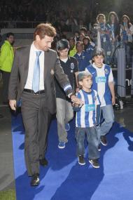 André Villas Boas com os filhos Fotos: Álvaro C. Pereira