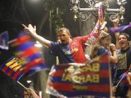 Festejos do Barcelona (EPA/Marta Perez)