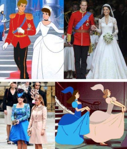 bc63cee035e As semelhanças entre o Casamento Real e o conto «A Cinderela»
