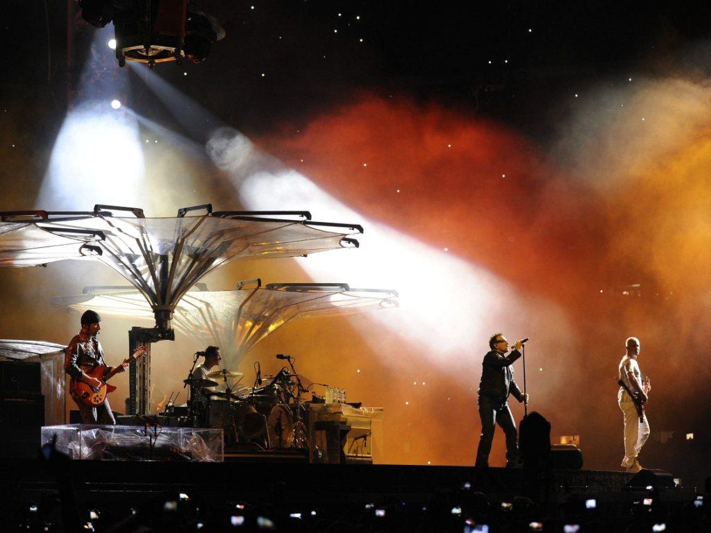 U2 no México [EPA]