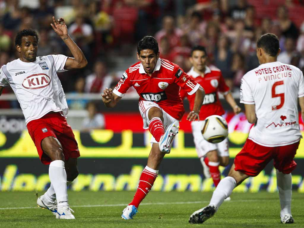 Benfica vs U. Leiria (Tiago Petinga/LUSA)