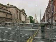 Segurança apertada na visita da rainha a Dublin