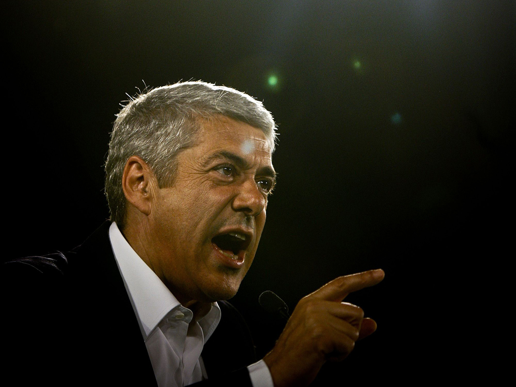 26/05/2011 - Campanha socialista (Lusa/Mário Cruz)