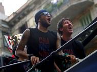 Dani Alves e Messi
