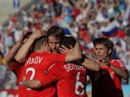 Rússia vs Arménia (EPA/Anatoly Maltsev)