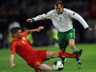 Aiden McGeady (Spartak Moscovo/Rep. Irlanda), avançado, 26 anos [EPA/Georgi Licovski]