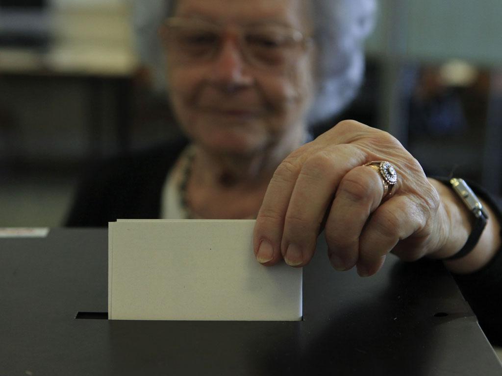 05/06/2011 Eleições legislativas (ANTONIO COTRIM/LUSA)