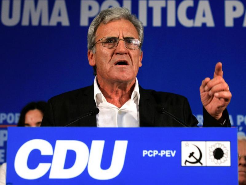 Eleições legislativas 2011: Jerónimo de Sousa - CDU (António Cotrim/Lusa)