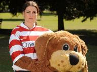 TRacy Chandler, a mascote do Doncaster Rovers