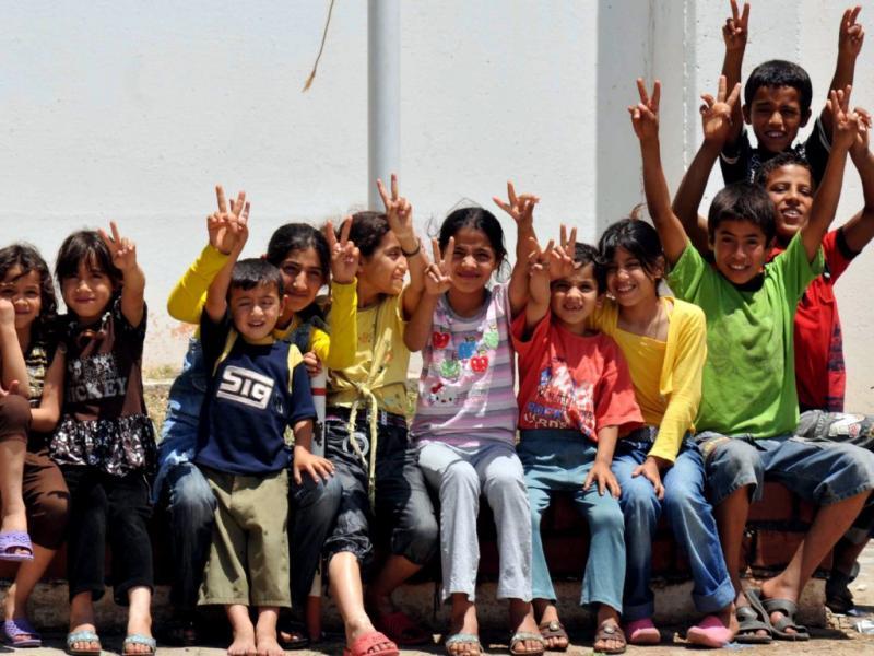 Refugiados sírios na Turquia