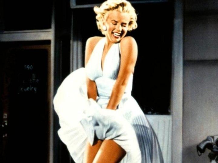 Marilyn Monroe (frame «O Pecado Mora ao Lado»)