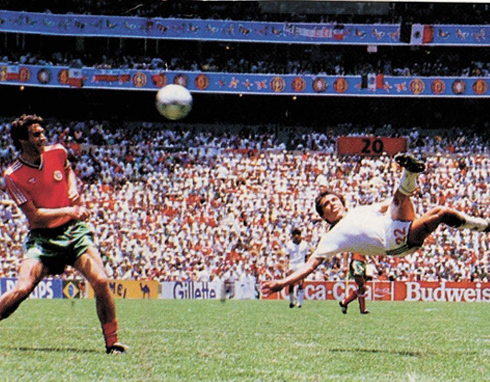Negrete: «Golos de Deus? O meu e o de Maradona»