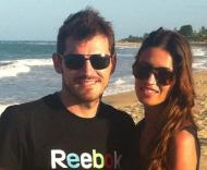 Iker Casillas e Sara Carbonero (Foto: Facebook)