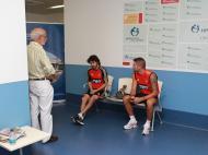 Primeiros dias do novo Benfica (Aimar e Javi García)