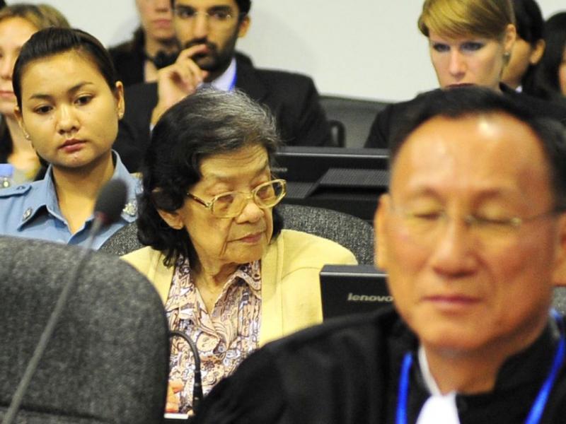 Julgamento de Khmeres Vermelhos no Camboja