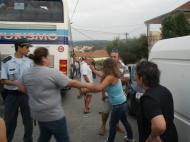 Confusão no Aliança-Cerco do Porto (Foto: Roberto Bessa Moreira)