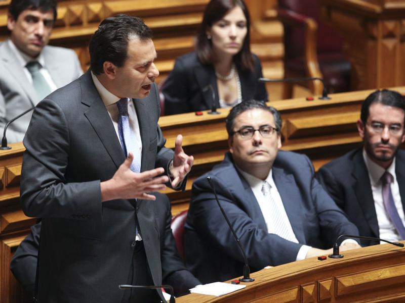 Lider parlamentar do PSD, Luis Montenegro - TIAGO PETINGA / LUSA