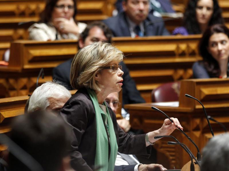A deputada do PS, Maria de Belém - JOSE SENA GOULAO / LUSA