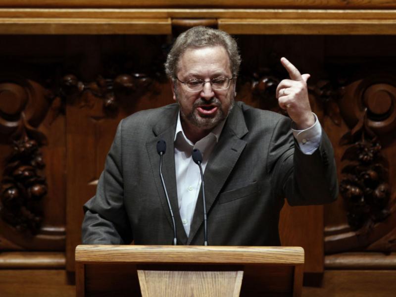Luis Fazenda do Bloco de Esquerda - JOSE SENA GUOULAO / LUSA