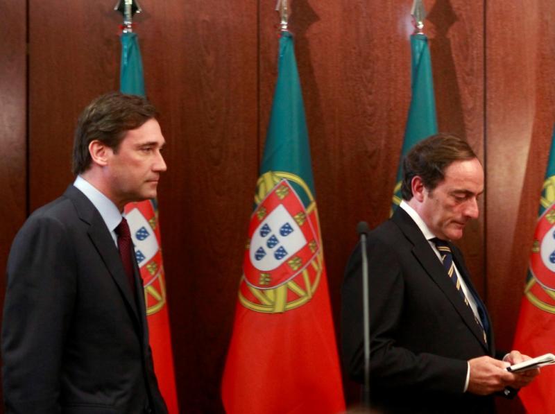 Passos Coelho e Paulo Portas (Reuters)