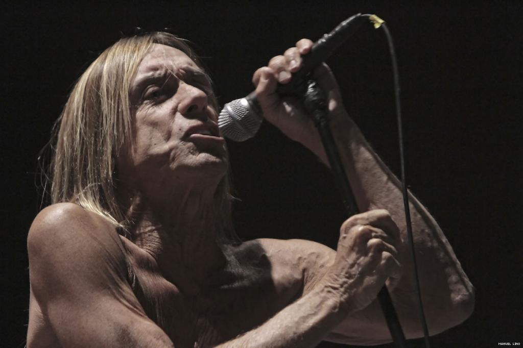 Iggy and the Stooges no Optimus Alive 2011 (foto: Manuel Lino)