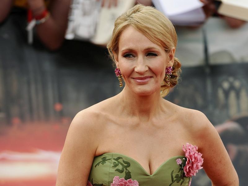 J.K. Rowling na antestreia de «Harry Potter e os Talismãs da Morte - Parte 2»(Foto Reuters)