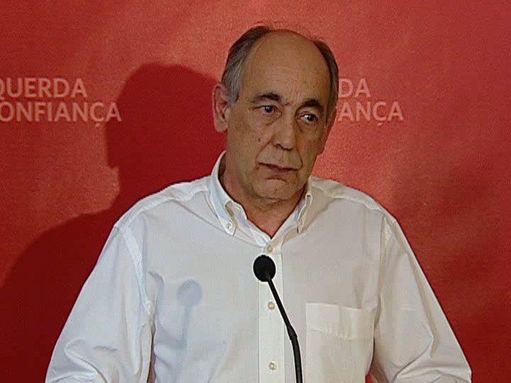 João Semedo, deputado do Bloco de Esquerda