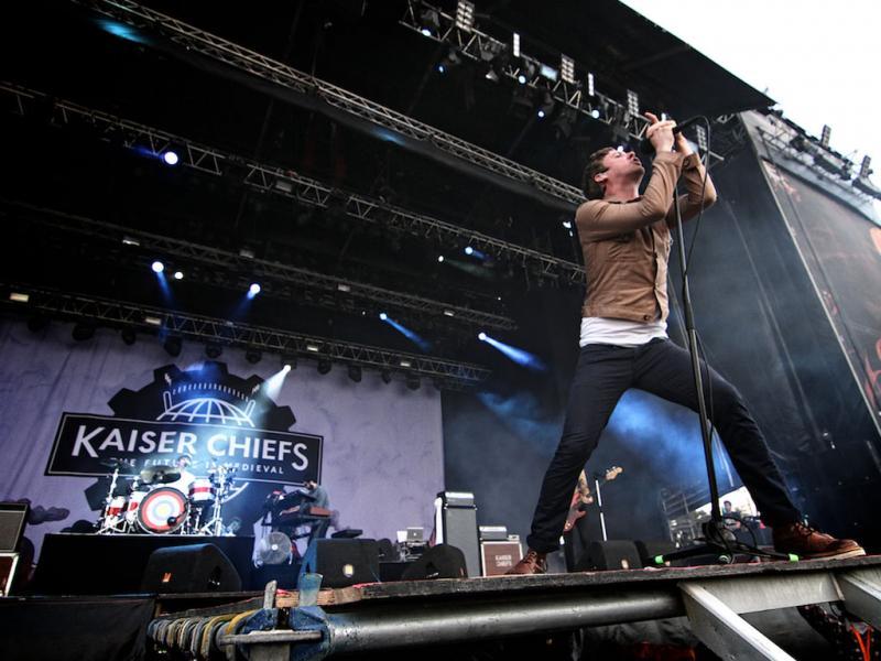 Kaiser Chiefs no Optimus Alive 2011 (foto: Manuel Lino)