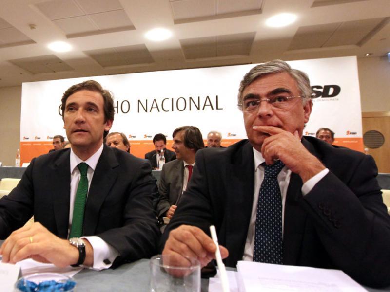 O novo secretário geral do PSD, José Matos Rosa - MANUEL DE ALMEIDA/LUSA