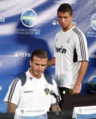 David Beckham Conferência de imprensa para anunciar o Herbalife World Football Challenge 2011 Fotos: Reuters