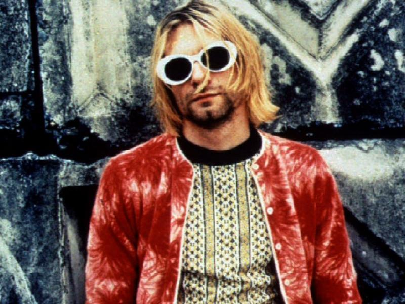 Kurt Cobain (foto Reuters)