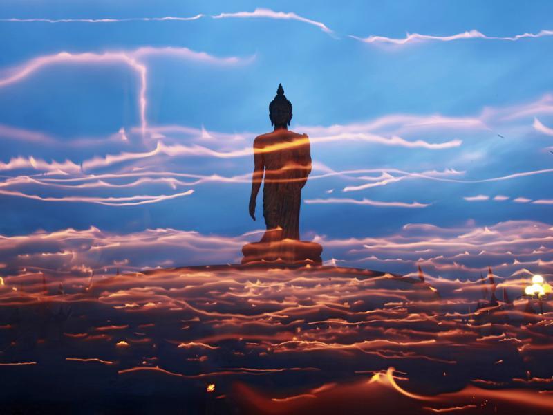 Ao redor de Buda