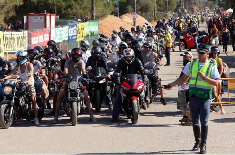 30ª Concentração Internacional de motos em Faro -  LUIS FORRA/LUSA