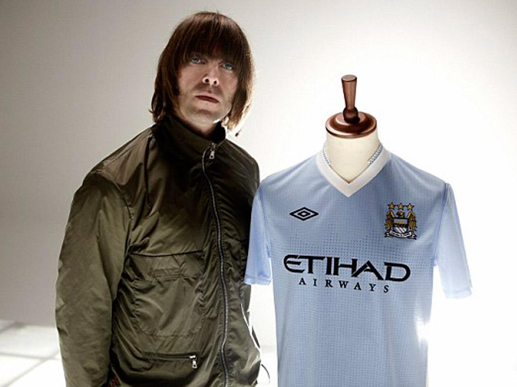 Liam Gallagher, adepto incondicional do City
