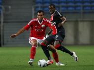 Fábio Faria na marcação a Maurice